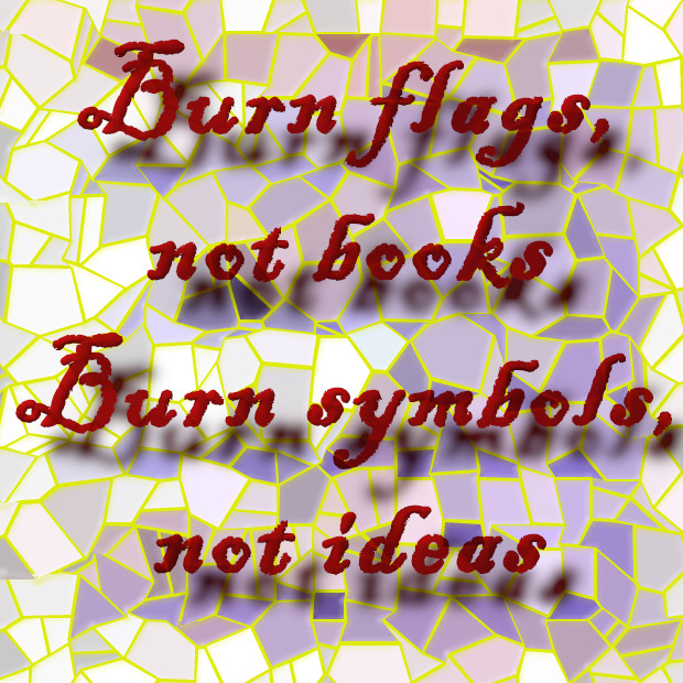 burn flags