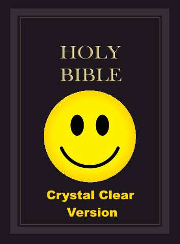 crystal clear bible