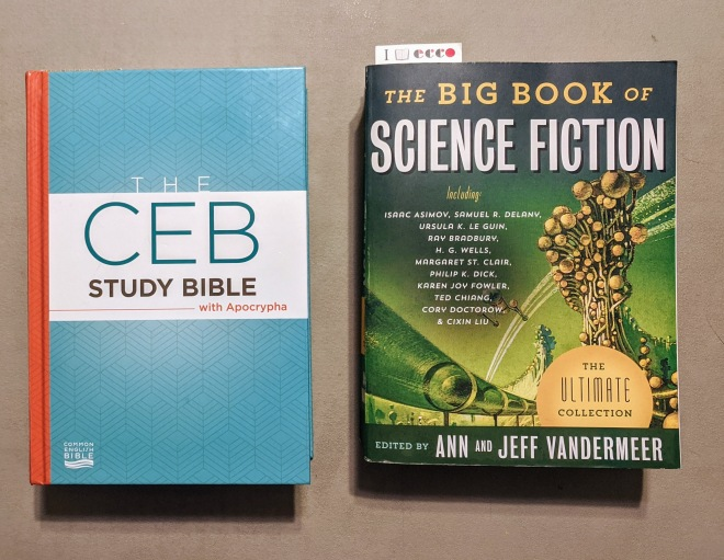 bible and sci-fi